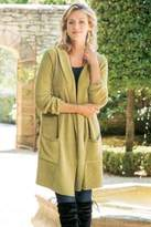 Soft Surroundings Nora Hooded Cardi