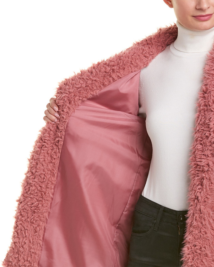 Thumbnail for your product : Romeo & Juliet Couture Teddy Coat