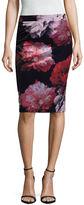 Liz Claiborne Velour Pencil Skirt