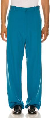 Balenciaga Baggy Tailored Pants in Bahamas Blue   FWRD