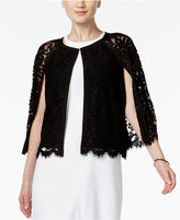 Alfani PRIMA Lace Illusion Capelet, Only at Macy's