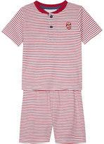 The Little White Company London Henley stripe cotton pyjamas 1-6 years