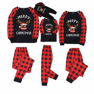 Maaun Matching Christmas Pyjamas Family Matching Pyjamas Set