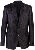 Alexander McQueen Printed classic blazer