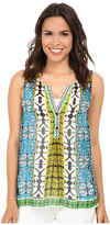Hale Bob Boho Chic Sleeveless Top