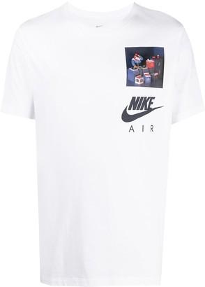 Nike Air graphic-print T-shirt