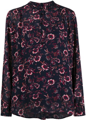 Tommy Hilfiger Floral-Print Buttoned Blouse
