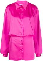 ATTICO The chemisier mini dress