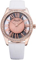 Kenneth Cole New York Kenneth Cole Women's Newness KC2728 Rose- Calf Skin Quartz Watch