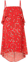Alice + Olivia Alice+Olivia - floral print layered dress - women - Polyester/Spandex/Elastane - XS