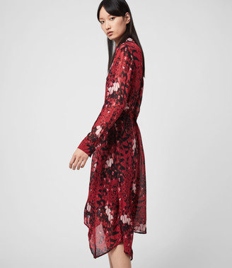 AllSaints Riva Wing Dress