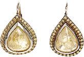 Zoe Yellow Diamond Earrings