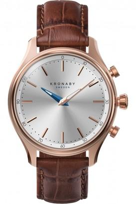 Unisex Kronaby SEKEL Alarm Watch A1000-2748