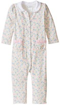 Ralph Lauren Printed 1x1 Rib Floral One-Piece Coveralls (Infant)