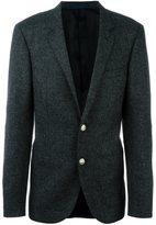 Lanvin two button blazer - men - Cupro/Wool - 48