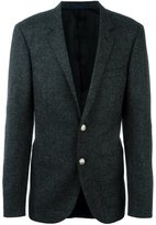 Lanvin two button blazer - men - Cupro/Wool - 50