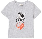 Paul Smith Grey Monkey Print Tee