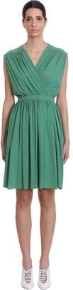 Mauro Grifoni Dress In Green Acrylic