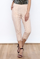Sugar Lips Lace Crop Pant