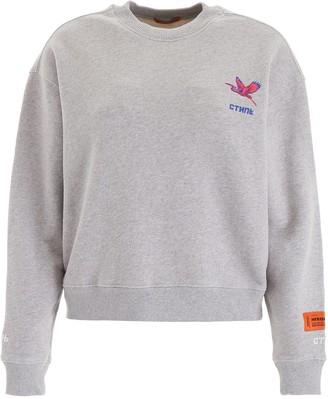 Heron Preston Embroidered Logo Sweatshirt