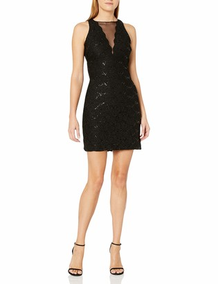 Night Way Nightway Women's One Piece Laced Short Cocktail Dress