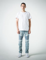 RSQ Seattle Moto Mens Skinny Tapered Stretch Jeans