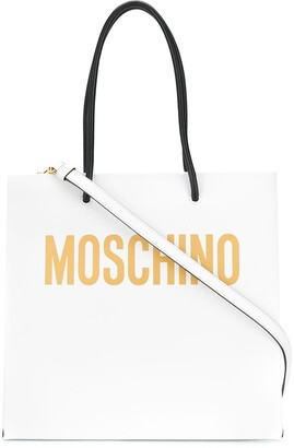 Moschino Logo Print Tote