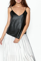 Do & Be Leather Top