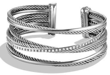 David Yurman Crossover Four-Row Cuff Bracelet