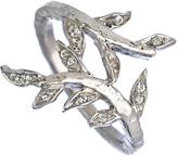 Laurèl KiraKira Silver and White Sapphire Ring