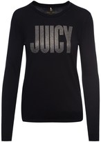 Juicy Couture Logo Crystal Couture Long Sleeve Tee