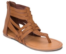 OLIVIA MILLER Vero Multi Strap Gladiator Sandals Women's Shoes