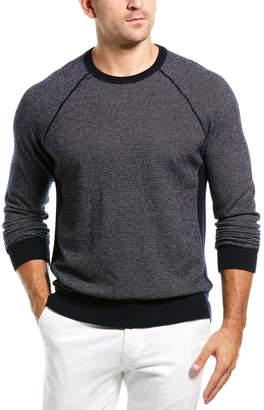 Vince Birdseye Wool & Cashmere-Blend Sweatshirt