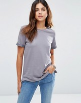 Asos Lightweight Knitted Loopback T-Shirt