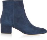 Halston Gabbie suede boots