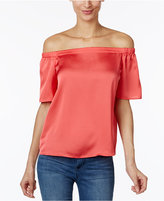 INC International Concepts Petite Off-The-Shoulder Top, Created for Macy's