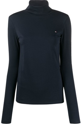 Tommy Hilfiger Funnel Neck Jumper