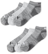 Puma 6-Pack Grey Logo Low Cut Socks