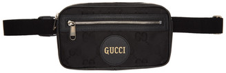 Gucci Black GG Off The Grid Belt Bag