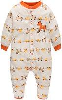 L.J Unisex-Baby Long Sleeve Children Pjs 5-6T