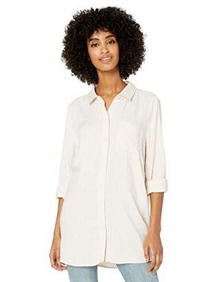 Goodthreads Modal Twill Long-sleeve Button-front ShirtXS