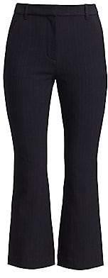 3.1 Phillip Lim Women's Pinstripe Kick Flare Pants
