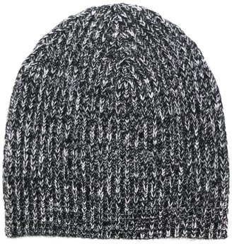 Cashmere In Love Melange Knitted Beanie
