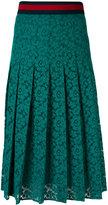 Gucci Web lace skirt - women - Silk/Cotton/Polyamide - 40