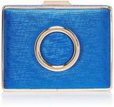 Issa Clora circle trim box clutch