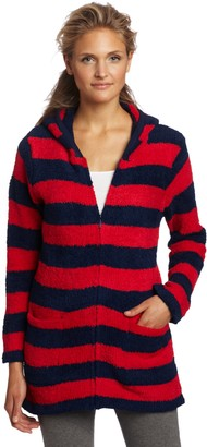 Casual Moments Women's Hooded Zip Sweater