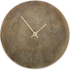 Nkuku Okota Brass Wall Clock