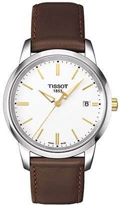 Tissot Classic T0334102601101 Dream Men's Watch, Leather Strap