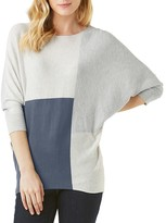 Phase Eight Color Block Becca Batwing Sweater