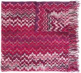 Missoni zig-zag knit scarf